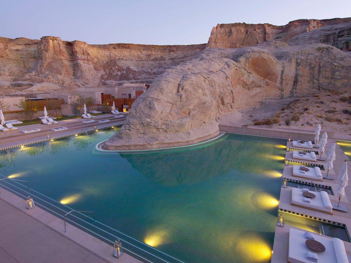 Amangiri Resort. Utah