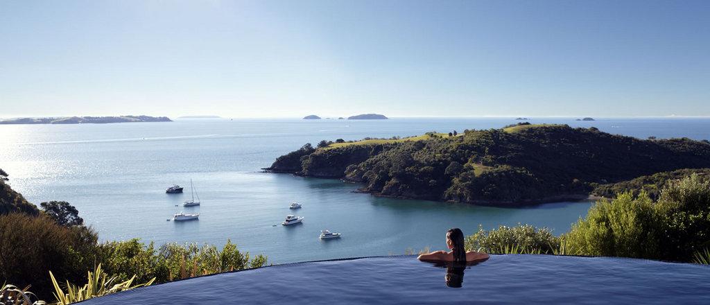 Delamore Lodge, en Waiheke Island, Nueva Zelanda