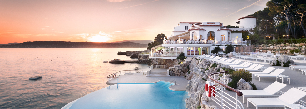 Hôtel du Cap-Eden-Roc, en Cap d'Antibes, Francia