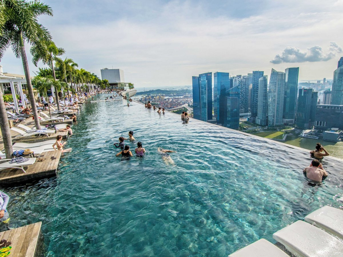 Hotel Marina Bay Sands. Singapur