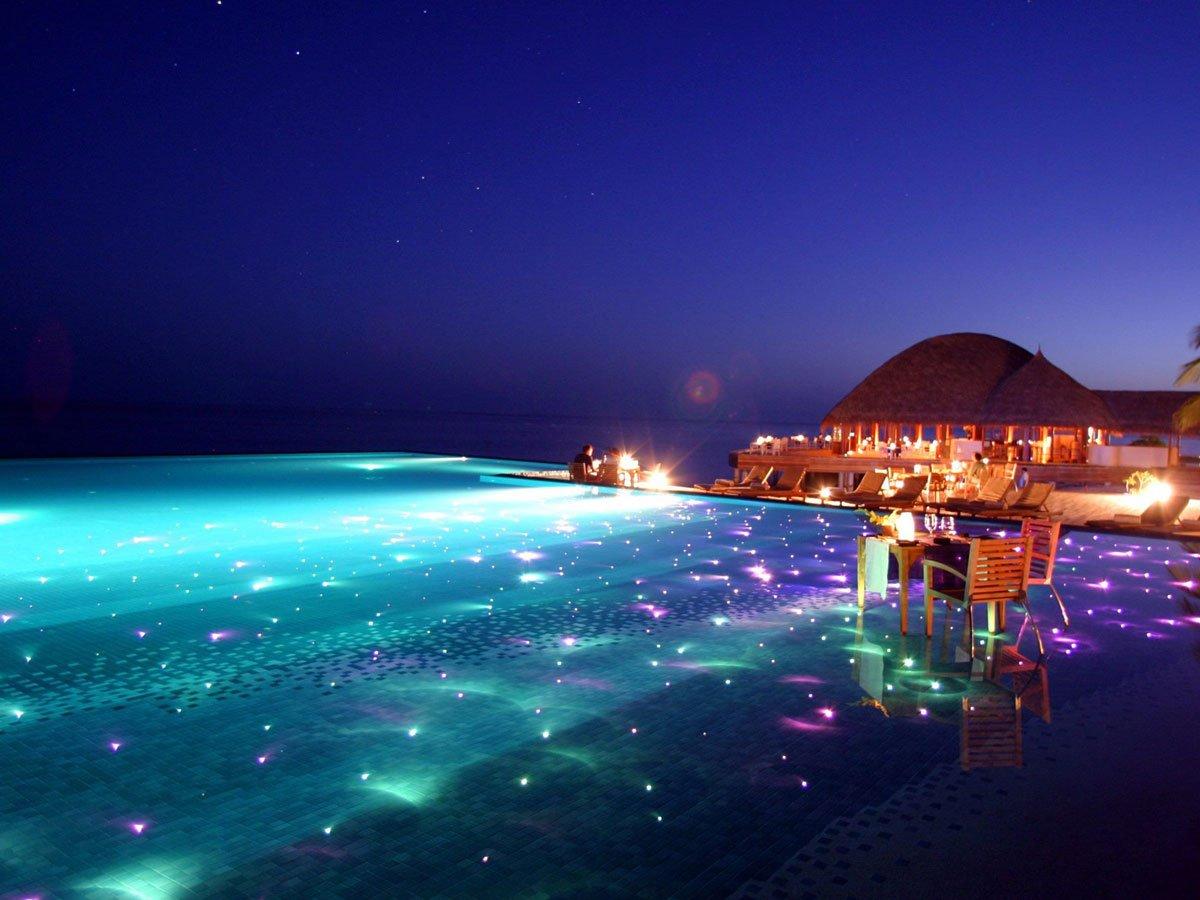 Huvafen Fushi Resort. Islas Maldivas