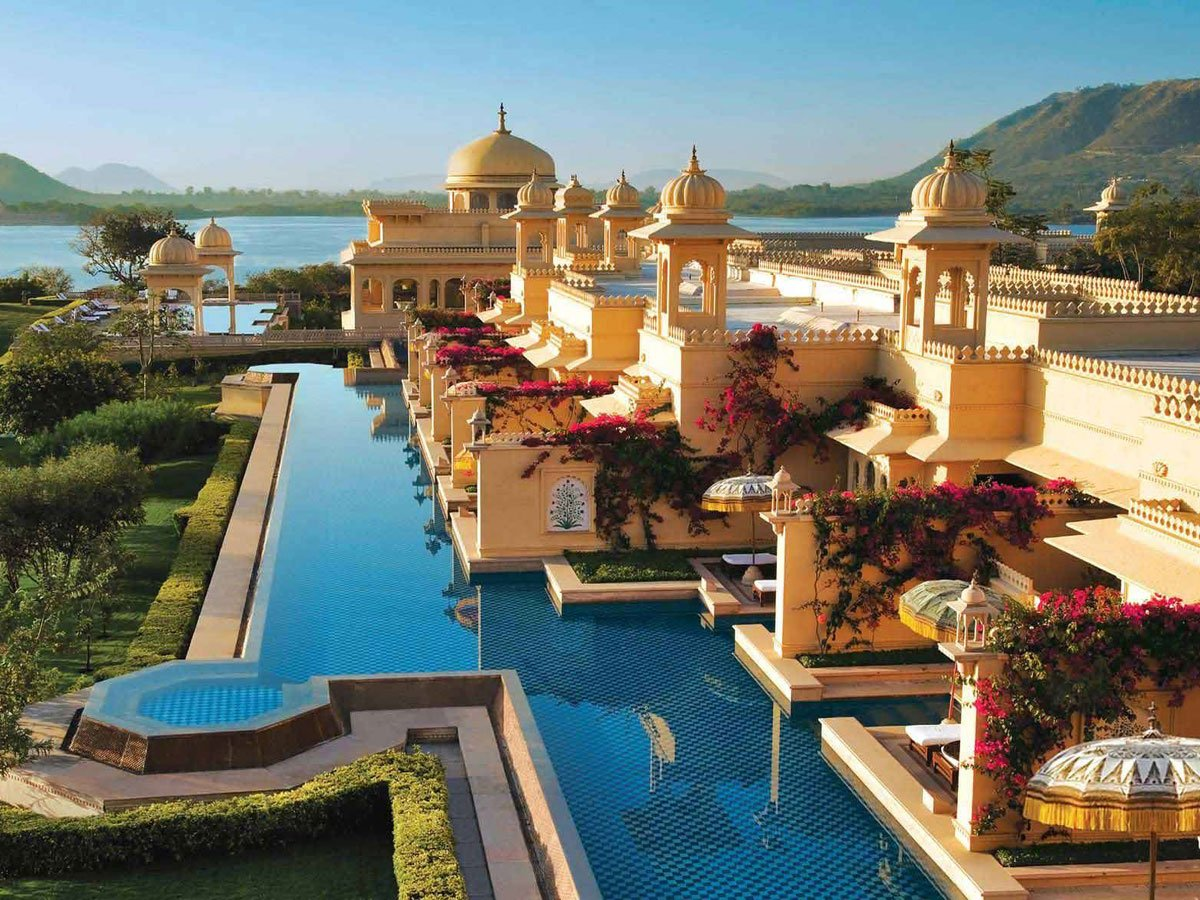 The Oberoi Udaivilas. India