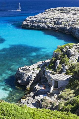 cala Binidali, en Menorca