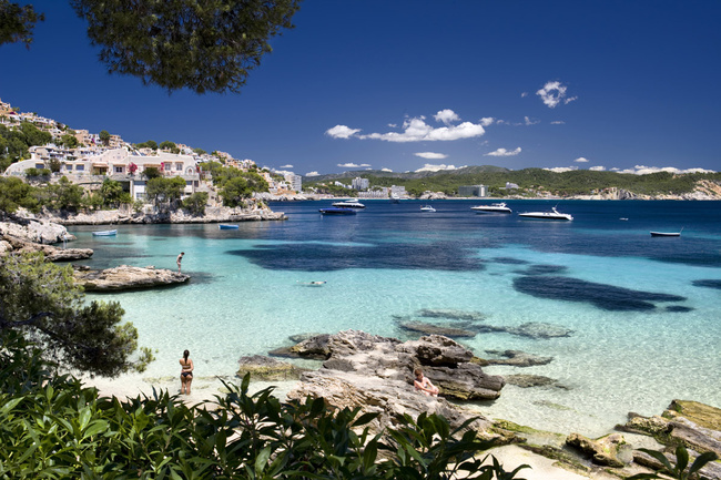 cala Fornells, en Mallorca