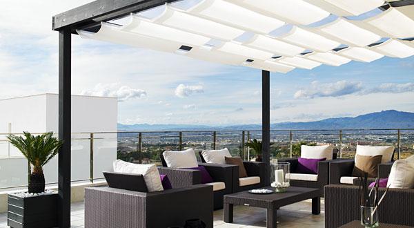 Terrazas de ticos blog madridecor - Pergola terraza atico ...
