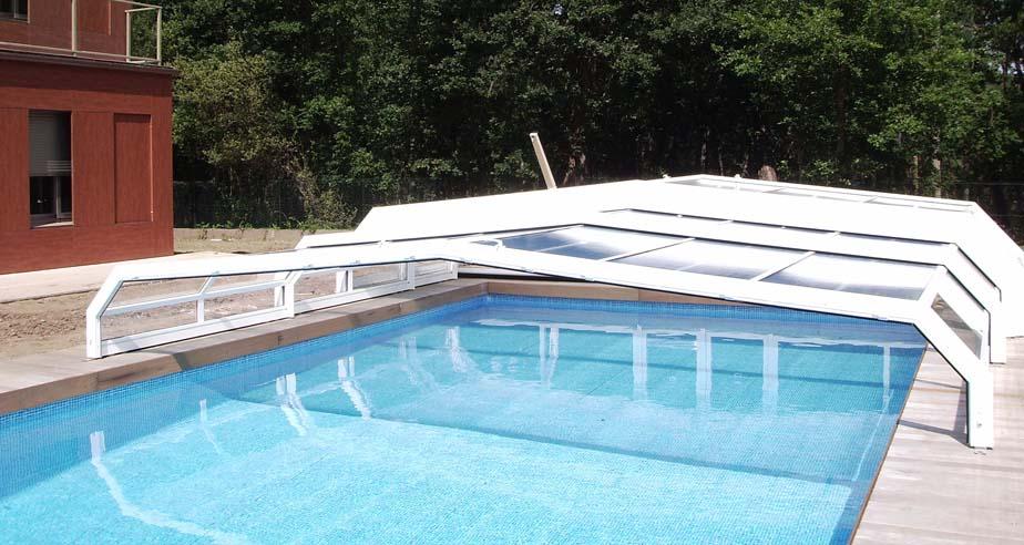 Cubierta de piscina Orballo Semi 1