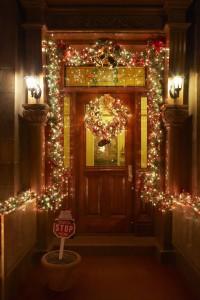 Decoración navideña para la Puerta de tu Hogar