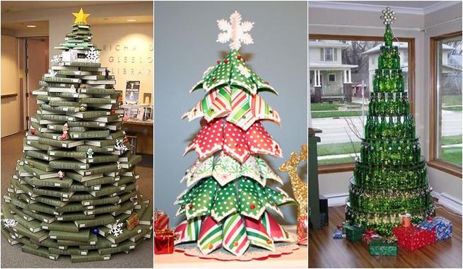 Rboles de navidad originales blog madridecor for Ideas para christmas de navidad